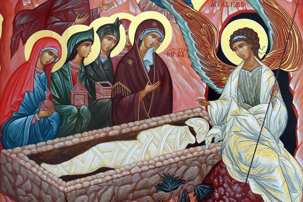 Святые жены-мироносицы - иконы