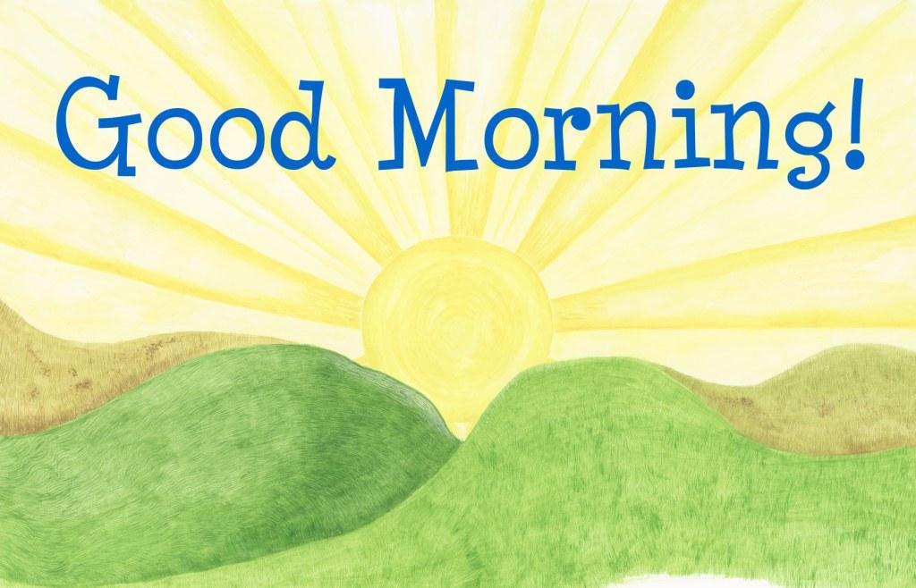 good morning картинки