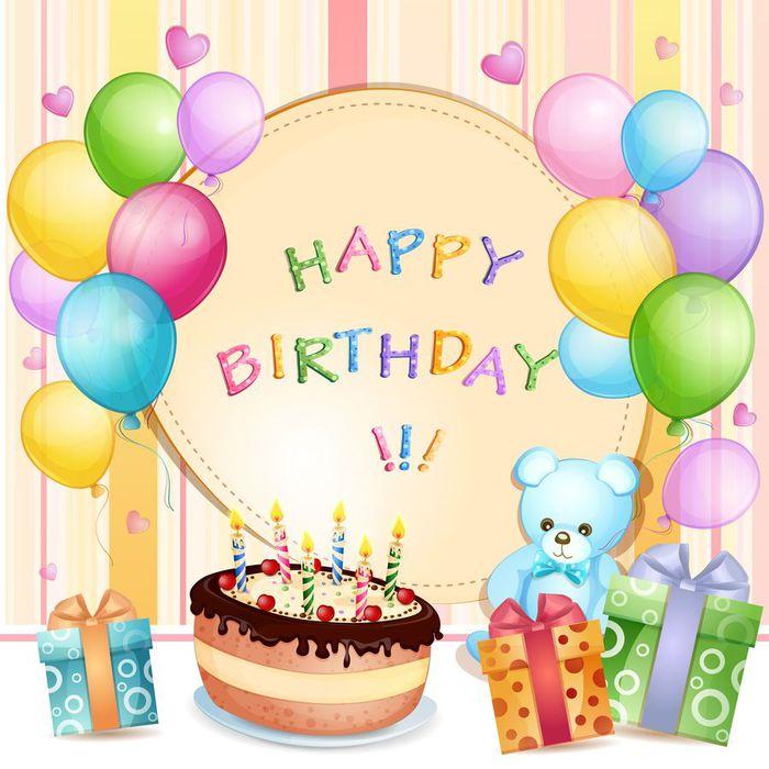 Открытка ко дню рождения в фейсбуке 97