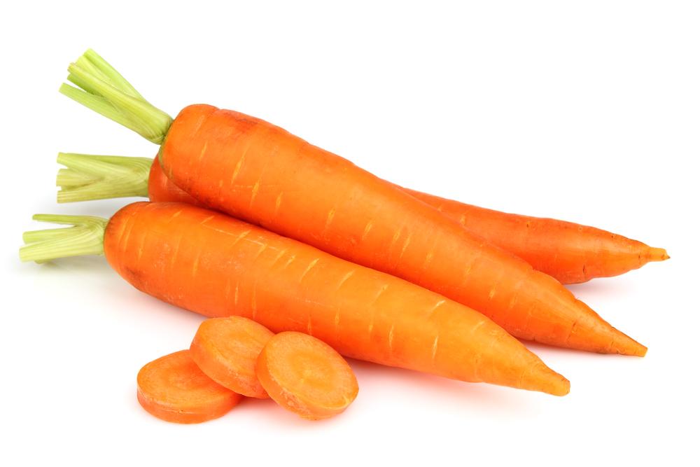 морковь с огорода