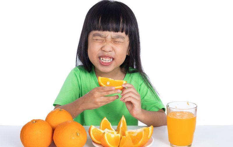 Кислая пища и вкусовые рецепторы