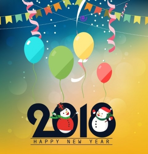 картинка с новым годом 2018