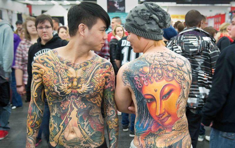 Выставки тату