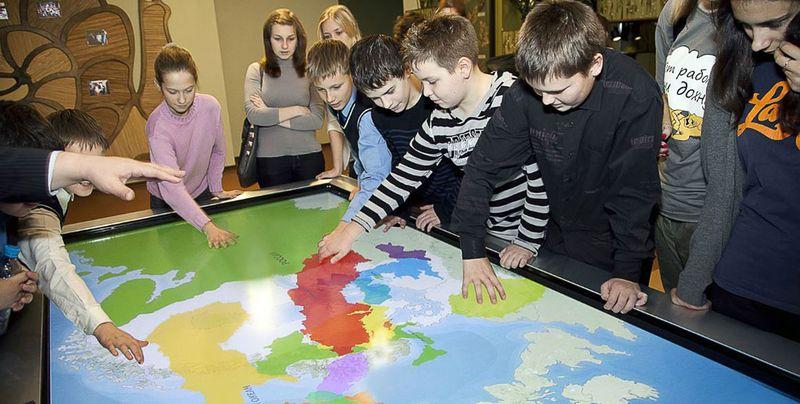 Интерактивные карты в музеях