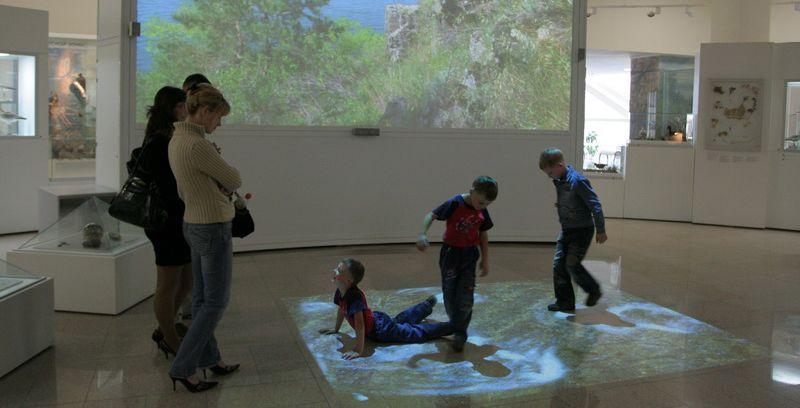 Интерактивные детские комнаты в музеях