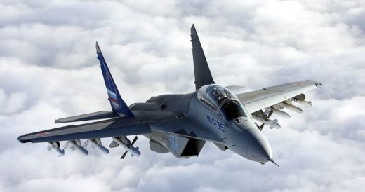 Военный истребитель МиГ-35