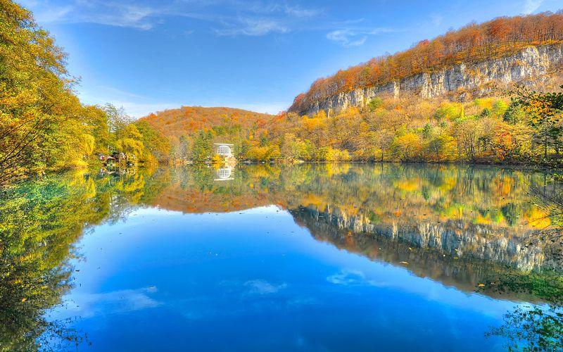 Голубые озера - Нижнее