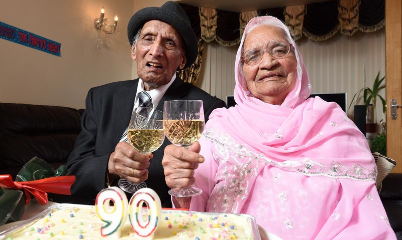 Катари Чанд и ее муж Карам