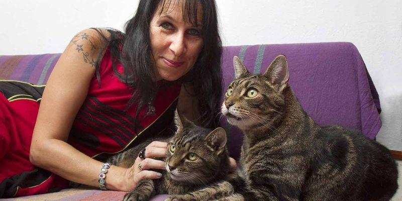 Барбарелла Бюхнер и ее коты