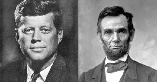 Авраам Линкольн и Дж. Кеннеди