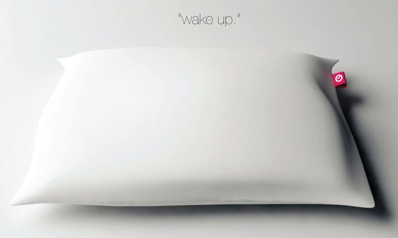 Подушка-будильник