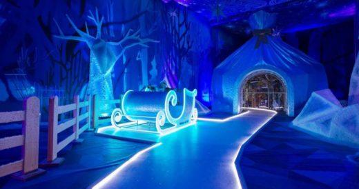 Ледяной дворец Деда Мороза