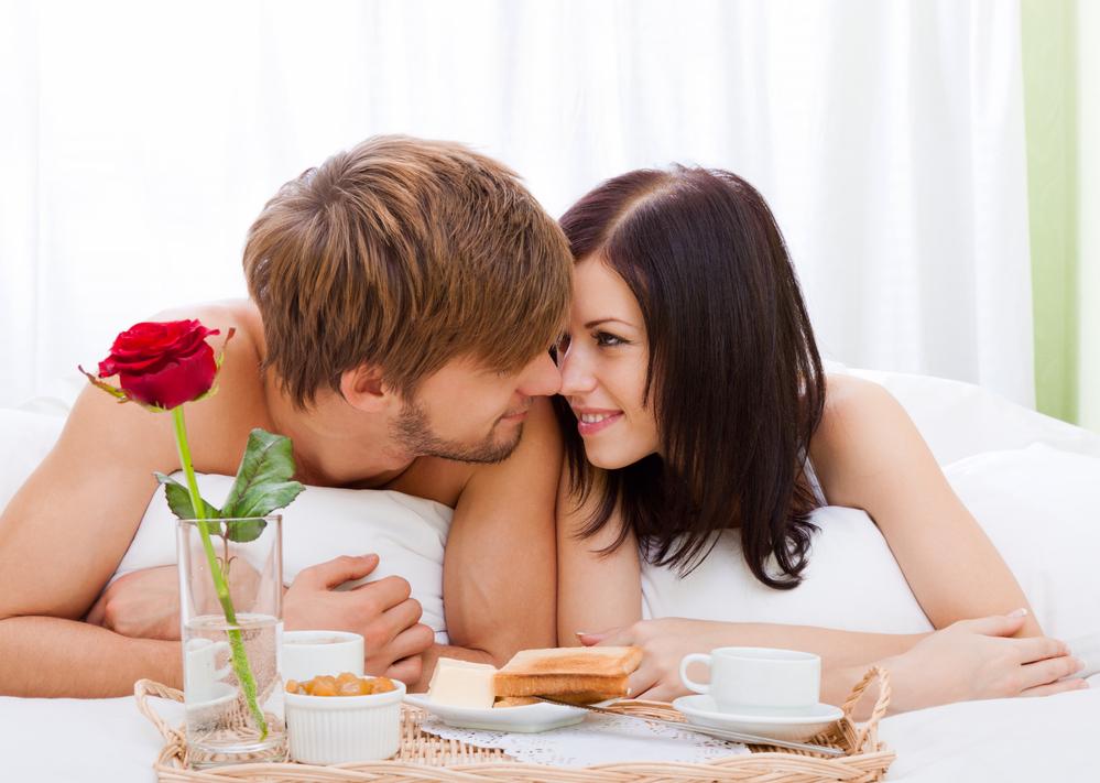 любящий муж и жена