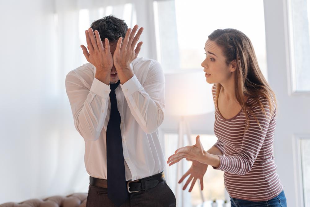 неприятное общение между мужчиной и женщиной