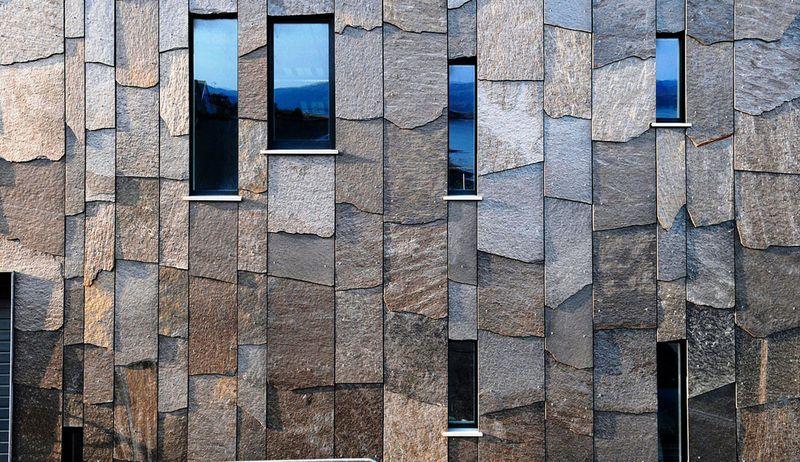 Фасадный керамогранит