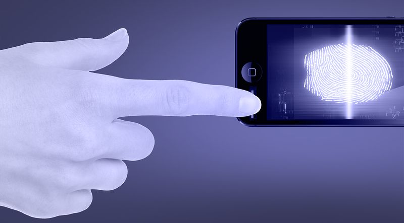 Дактилоскопический сенсор на смартфонах