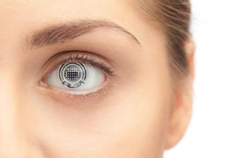 Цифровые линзы для глаз
