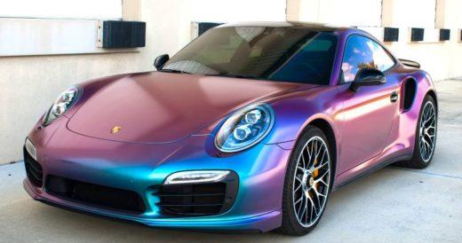 Парамагнитная краска автомобилей
