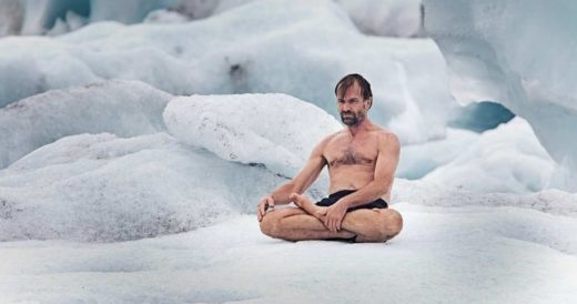 Голландец Вим Хоф не боится холода