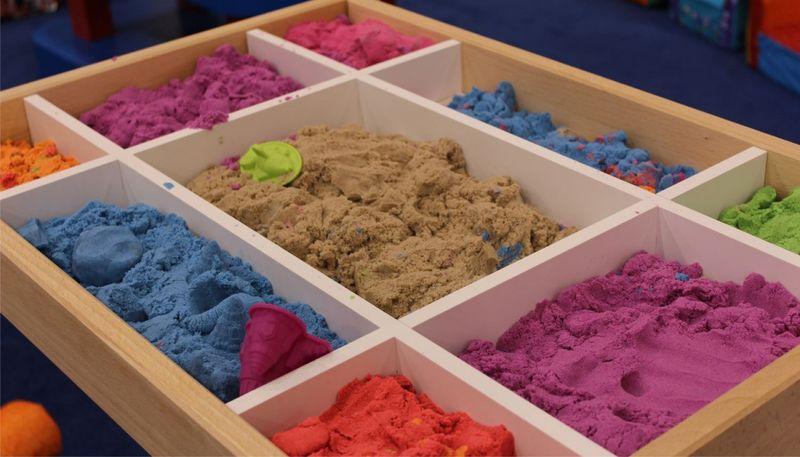Кинетический песок на Алиэкспресс