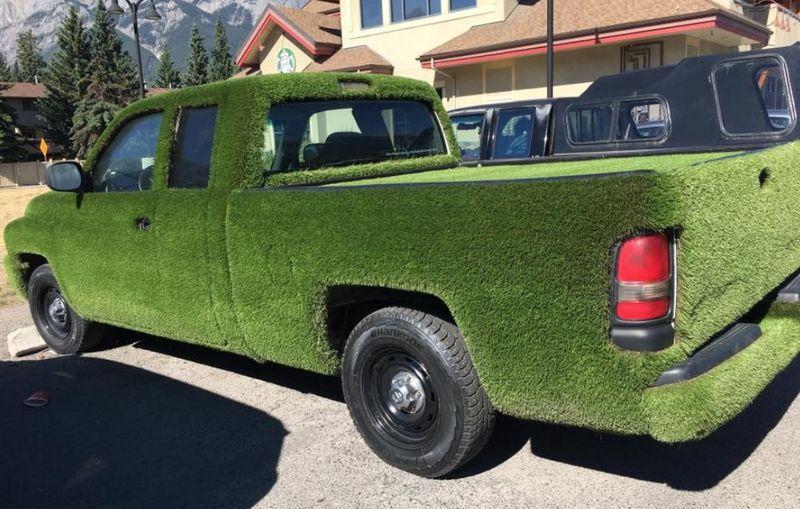 Автомобиль-газон