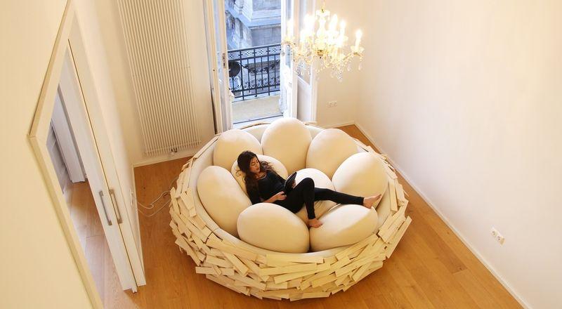 """Кресло-""""гнездо"""""""