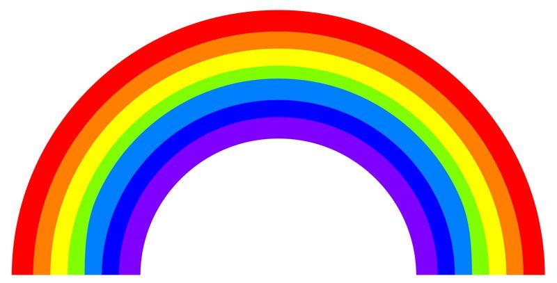 7 цветов радуги