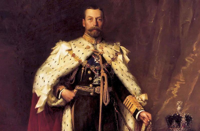 Английский король Георг V