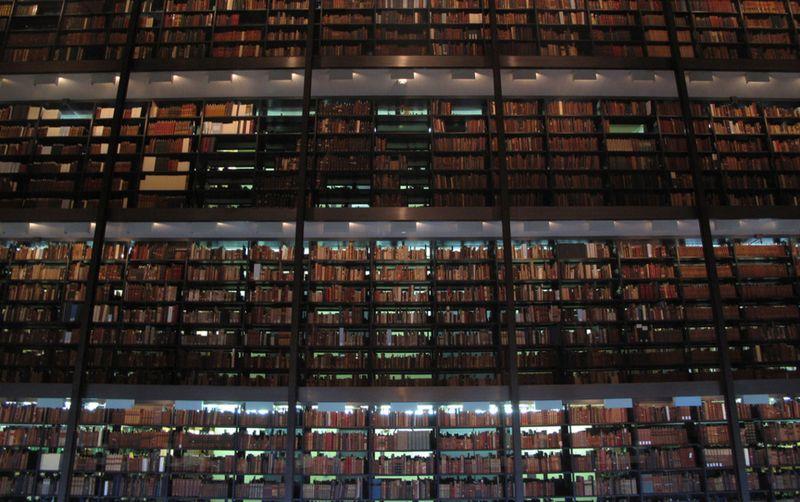 Underground Library в Нью-Йорке