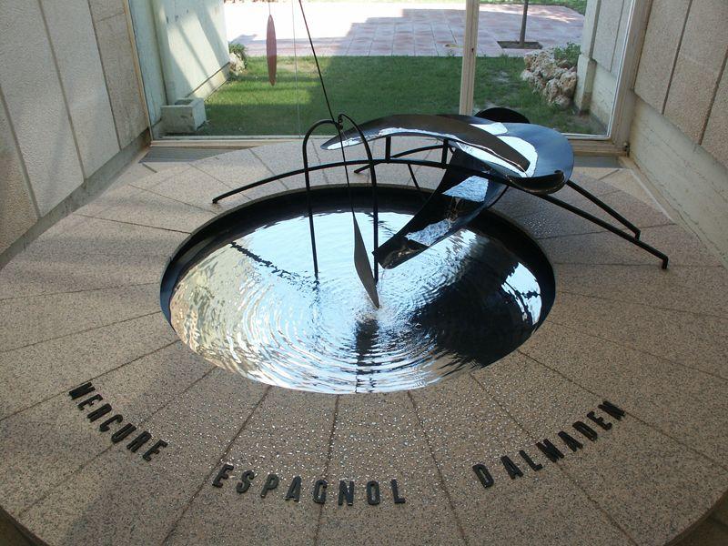 Ртутный фонтан в Барселоне