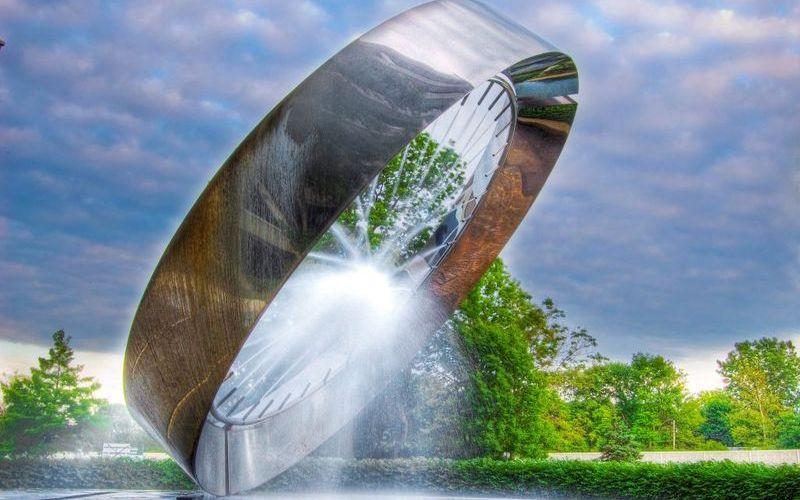 71 фонтан в Огайо