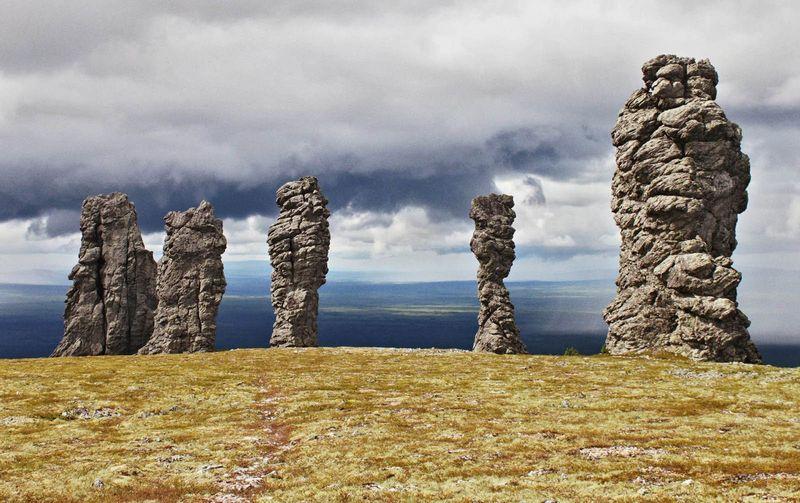 Столбы выветривания (Маньпупунер), Россия