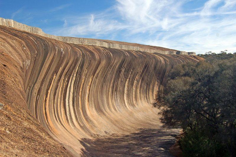 Каменная волна, Австралия