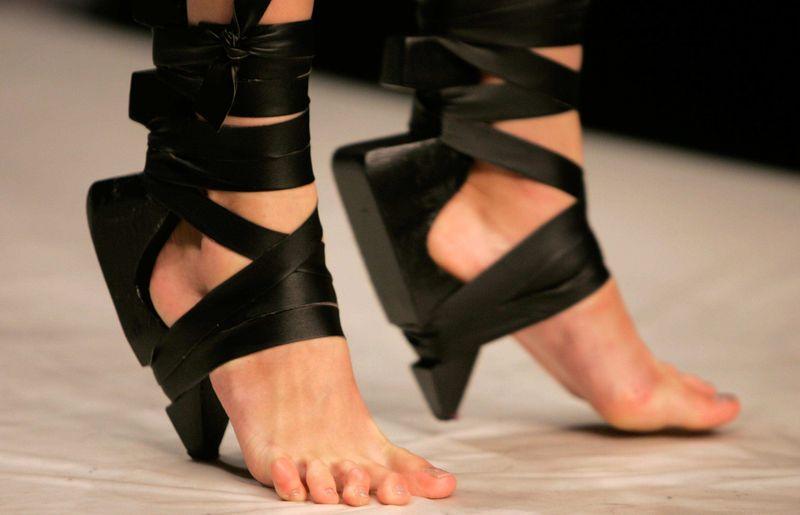 Туфли без подошвы