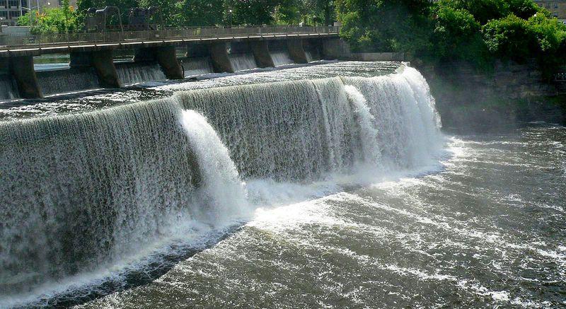 Водопад Ридо