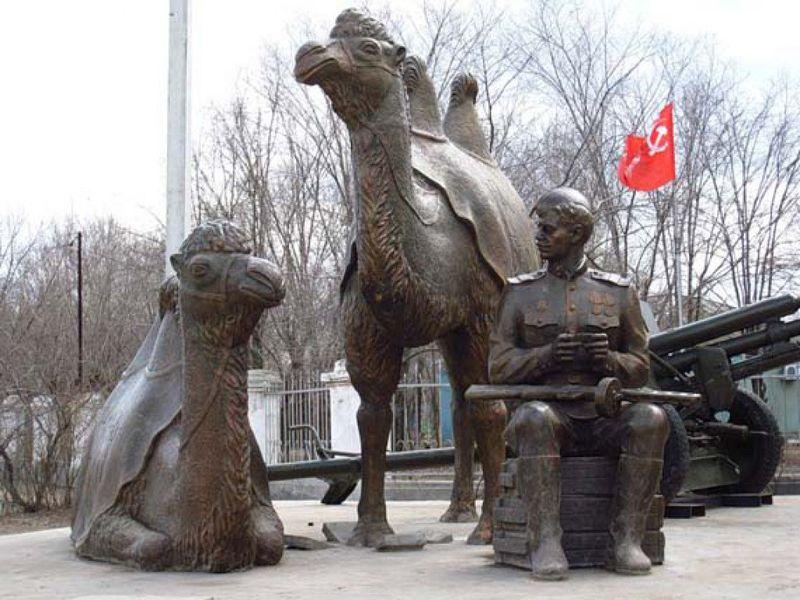 """Памятник """"Мы победили!"""""""