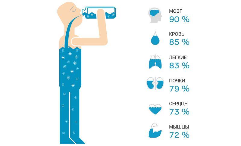 Человек и вода