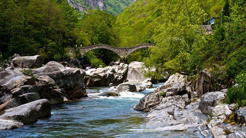 Самые чистые реки в Швейцарии