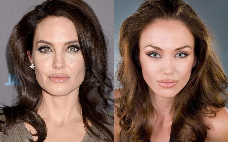 Анжелина Джоли и Тиффани Клаус