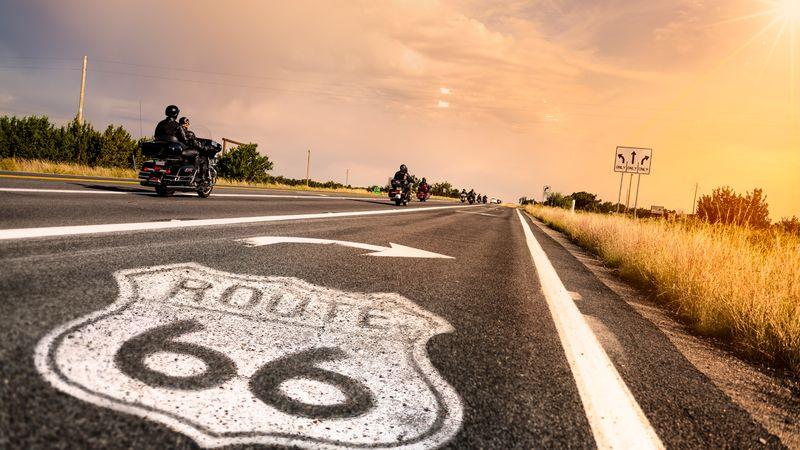 Трасса 66 в США