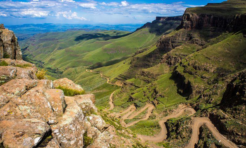 Сани Пасс в Южной Африке