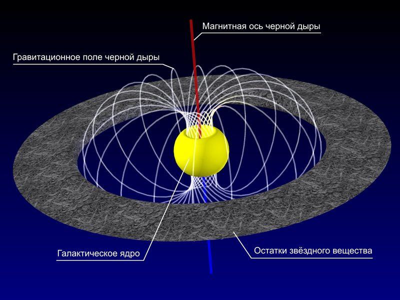 Строение черной дыры