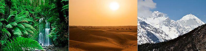 Климатические зоны в Индии