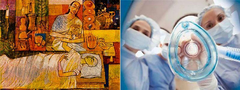 Возникновение и развитие анестезии