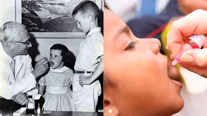 История вакцины от полиомиелита
