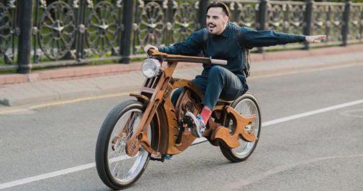 Деревянный велосипед 13 Craft