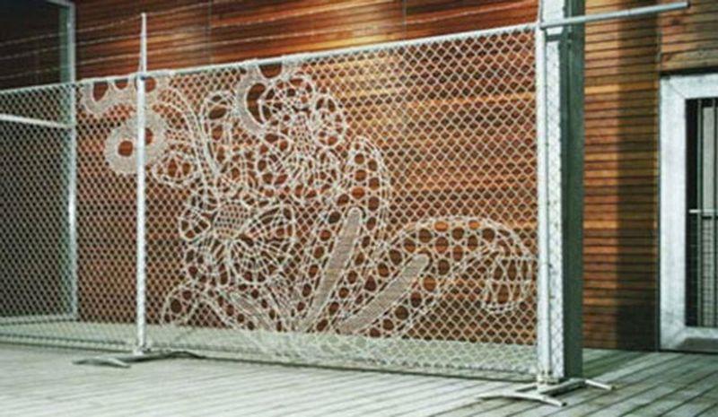 «Кружевной» забор