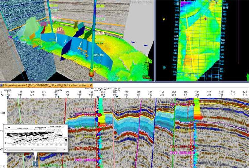 Сейсмический поиск в формате 3D и 4D