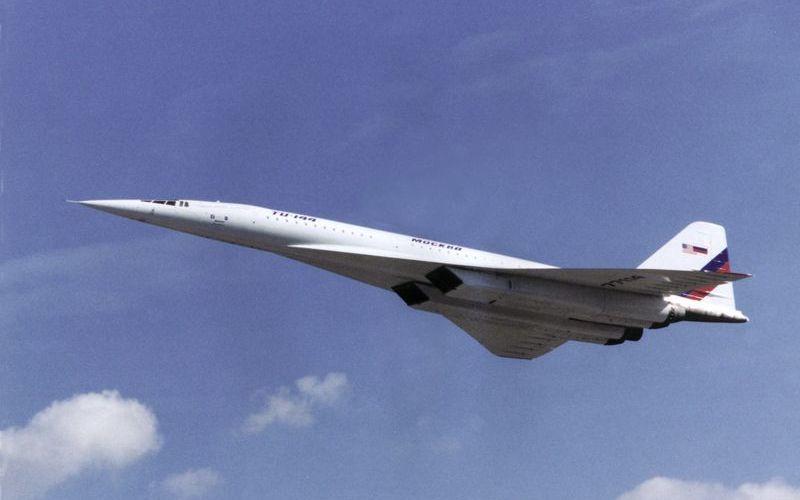 Сверхзвуковой самолет