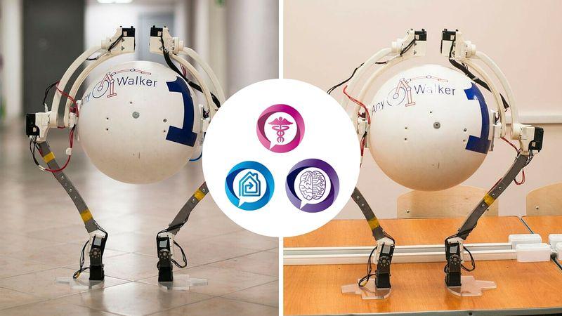 Робот-вездеход Anywalker